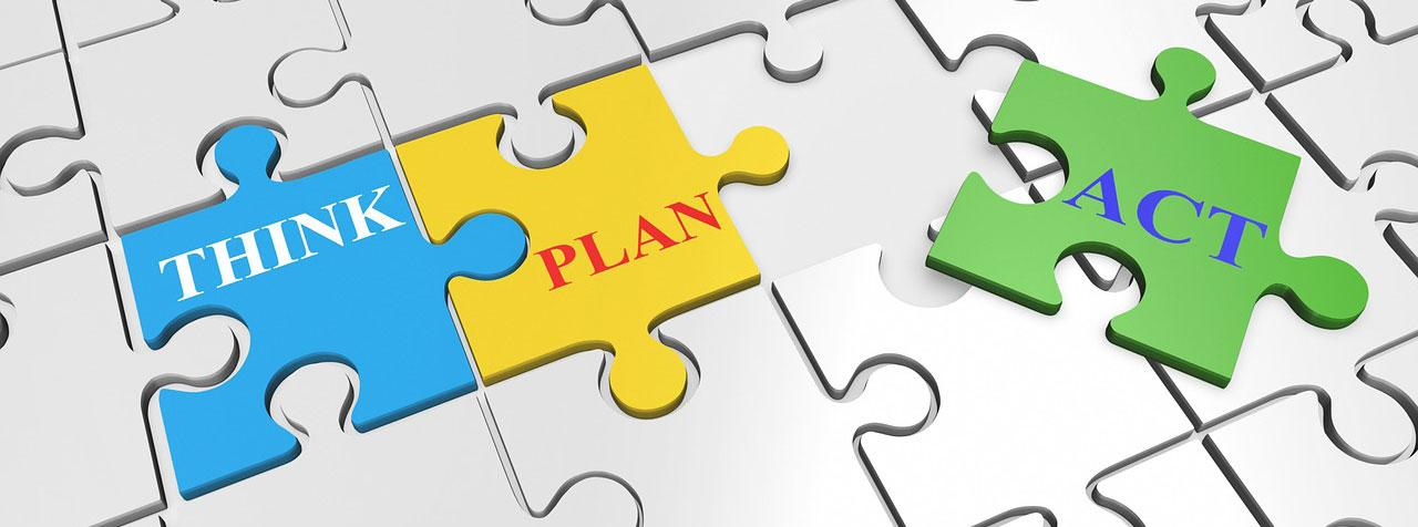 Think Plan Act Banner