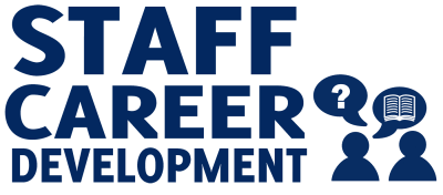 Staff Career Development Sign