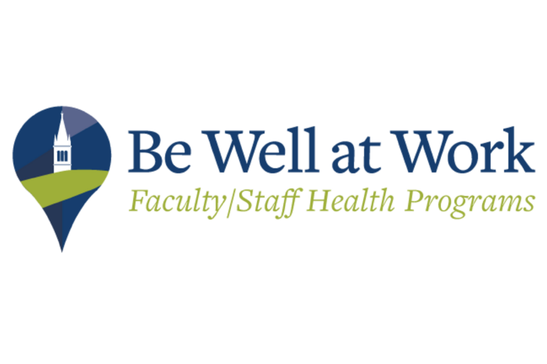 Be Well at Work Faculty/Staff Health Programs