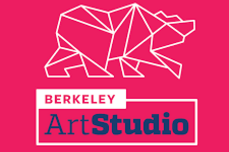 Berkeley Art Studio logo - geometric shapes form a bear