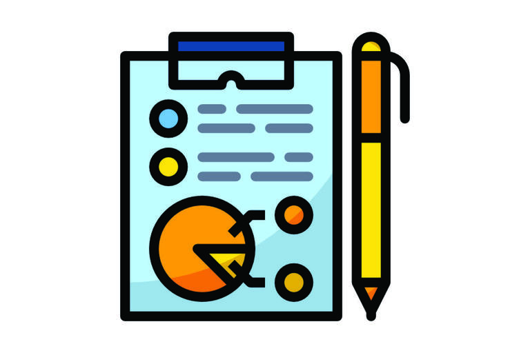 Icon image of a report document