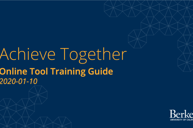 Achieve Together User Guide