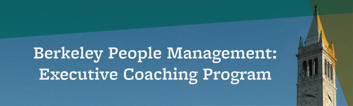Berkeley People Management: Executive Coaching Program
