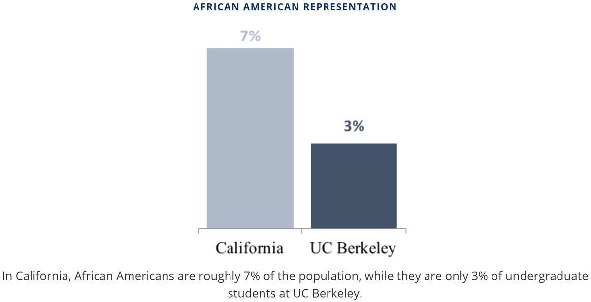 African American Representation graph