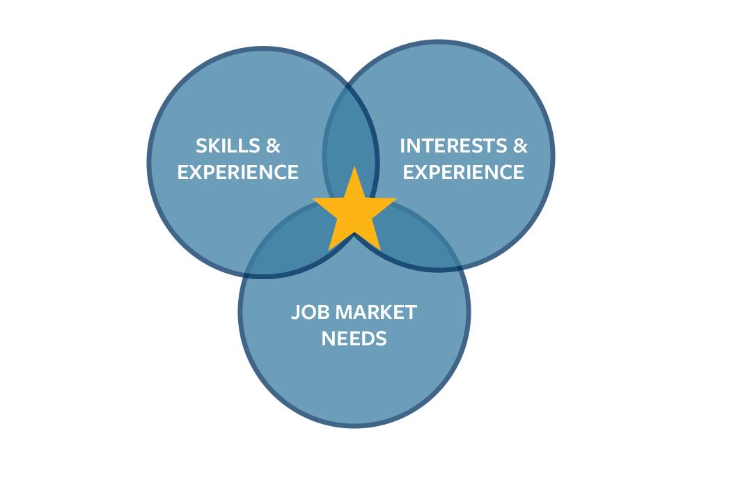 Job Search Ven Diagram