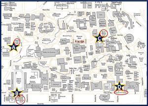 UC Walks Map