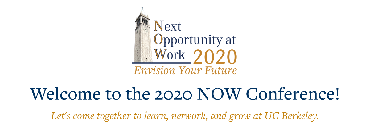 Welcome to the 2020 NOW Conference: Envision Your Future
