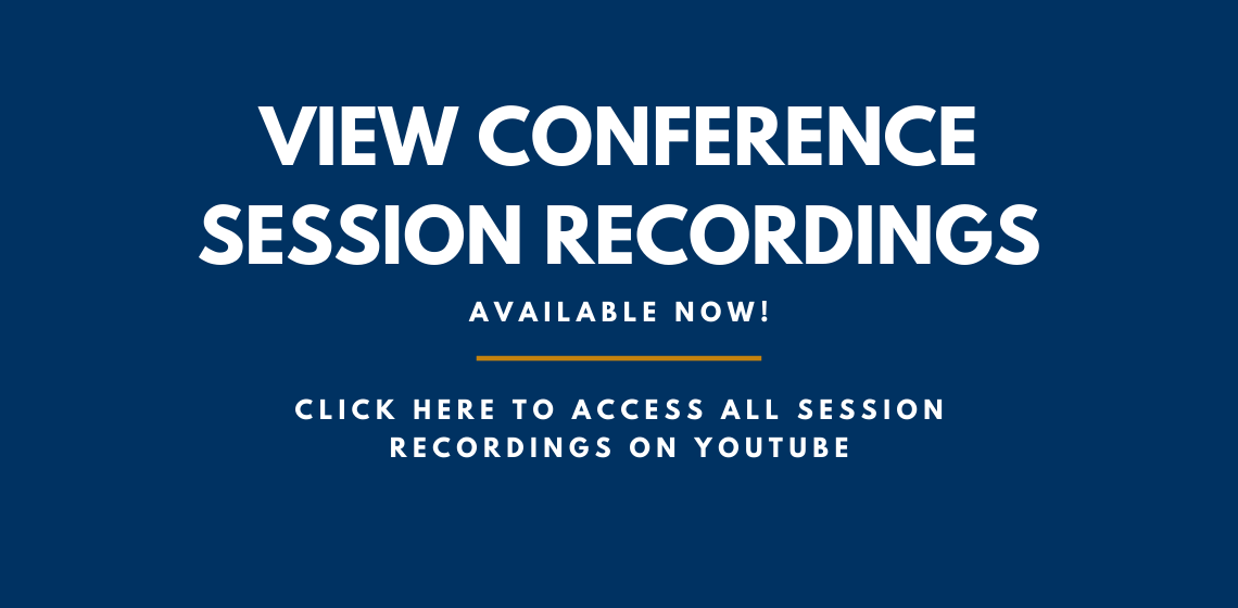 Click here to view all conference session recordings