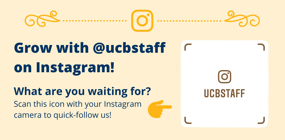 @ucbstaff Instagram