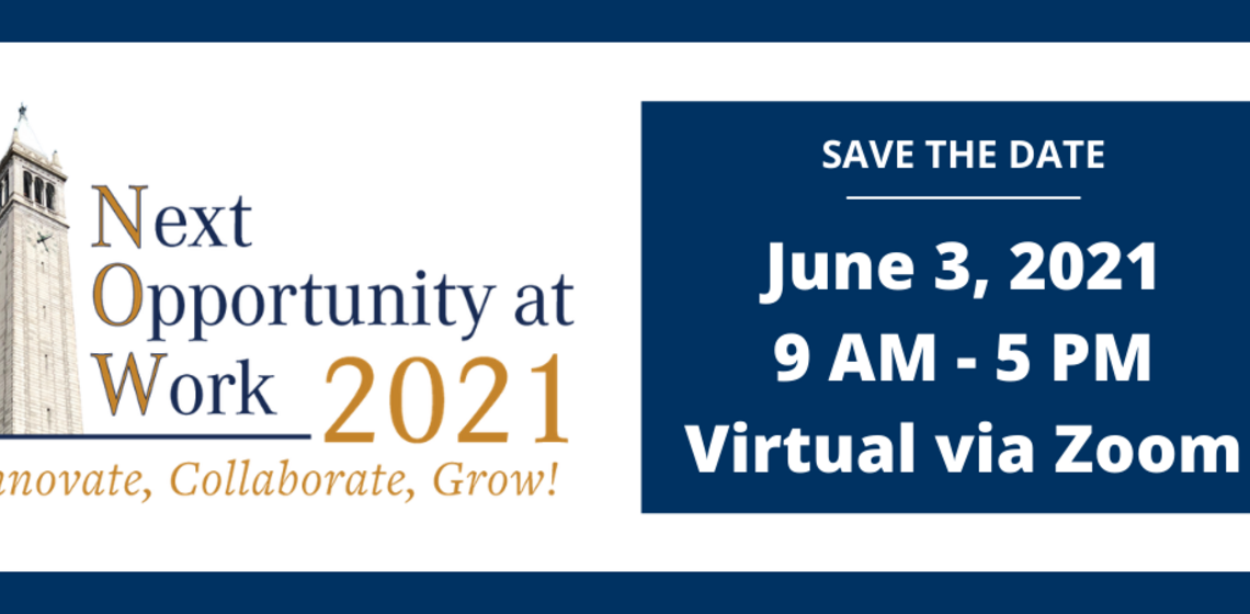 NOW Conference Save the Date June 3, 2021