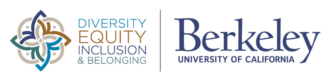 Diversity, Equity, Inclusion & Belonging logo and UC Berkeley logo