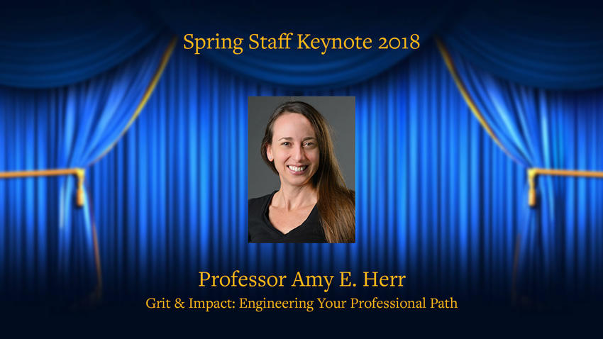 Faculty Lecture - Prof Amy Herr