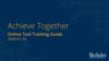 Achieve Together Online Dashboard User Guide slides