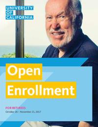 Open Enrollment - Retirees Booklet Image