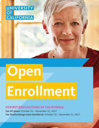 Open Enrollment - Retirees outside CA Booklet Image