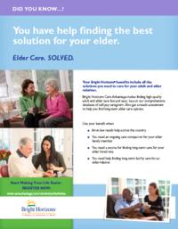 UCOP Elder care