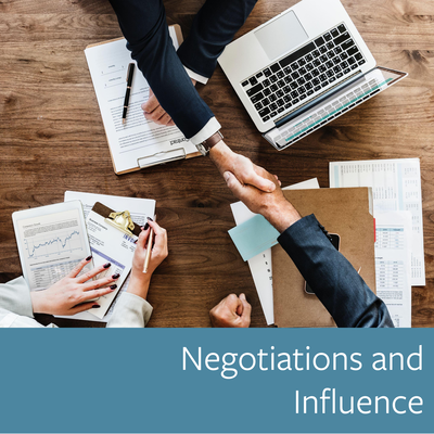 Negotiations and Influence